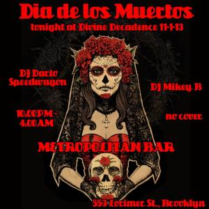 11-1-13 Day Of The Dead Flyer