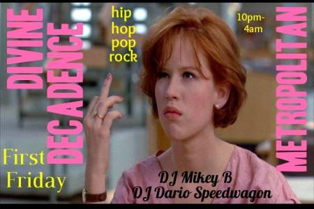 DD Flyer-Molly Ringwald Middle Finger
