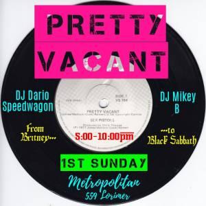 DJ Flyer-Pretty Vacant