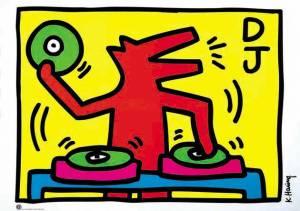 Keith Haring DJ(1)