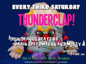THUNDERCLAP Flyer - Pillow