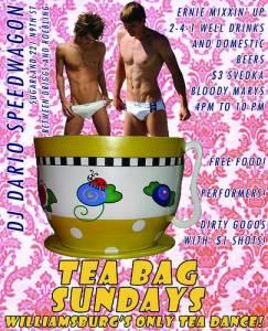 Teabag Flyer