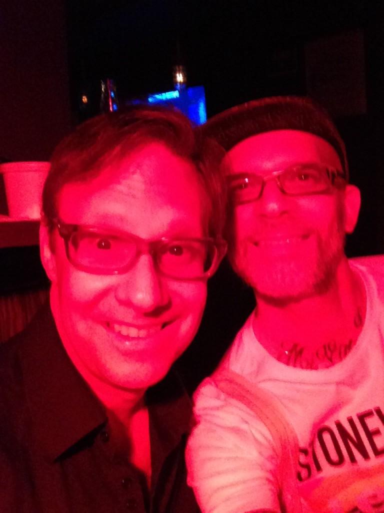 Me and Jon Ginoli