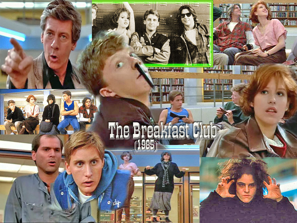 The-Breakfast-Club-wallpaper scenes