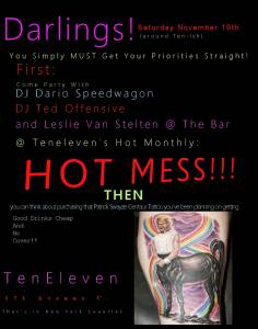 Hot Mess Flyer-11-19-11