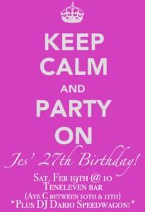 Jes Irwin S Party