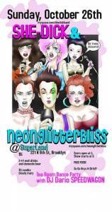 NeonGlitterBliss Flyer