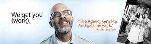 Website banner - The Agency